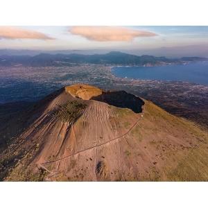 Vesuvio cratere